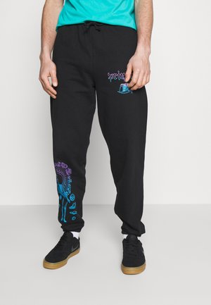 SYSTEMS - Tracksuit bottoms - black