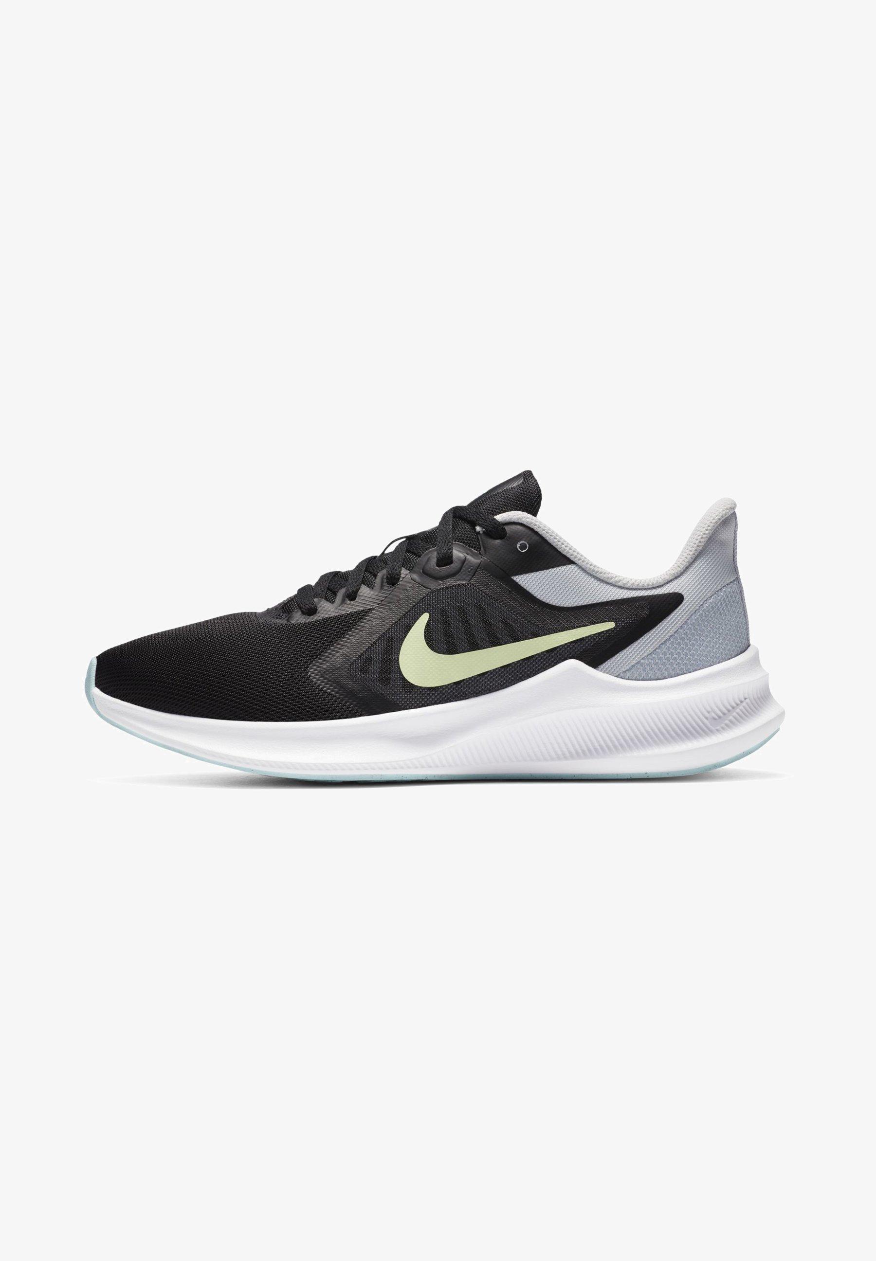Nike Performance Neutral Running Shoes Black Pure Platinum Glacier Ice Barely Volt Black Zalando De