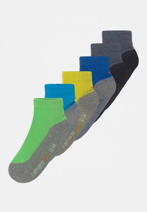 PROTEX FUNCTION QUARTERS 6 PACK UNISEX - Socks - turquoise