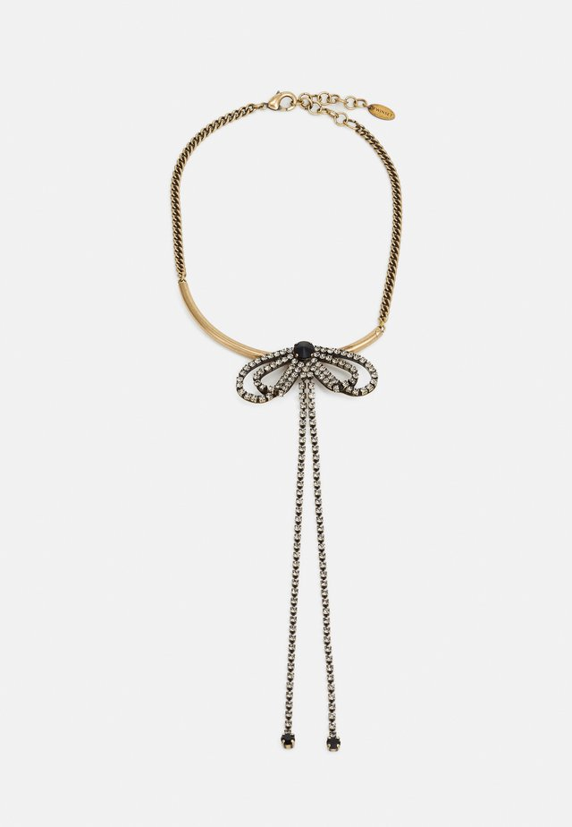 Collier - gold-coloured/black