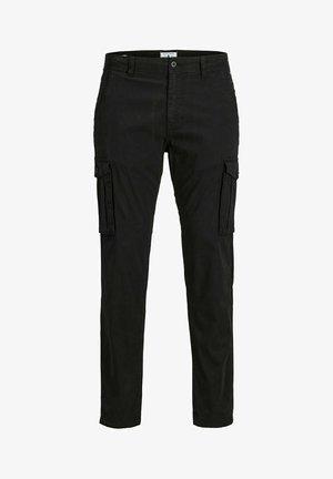 DRAKE ZACK - Cargo trousers - black
