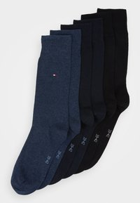 Tommy Hilfiger - MEN SOCK CLASSIC 6 PACK - Socks - black/dark navy/jeans - 0