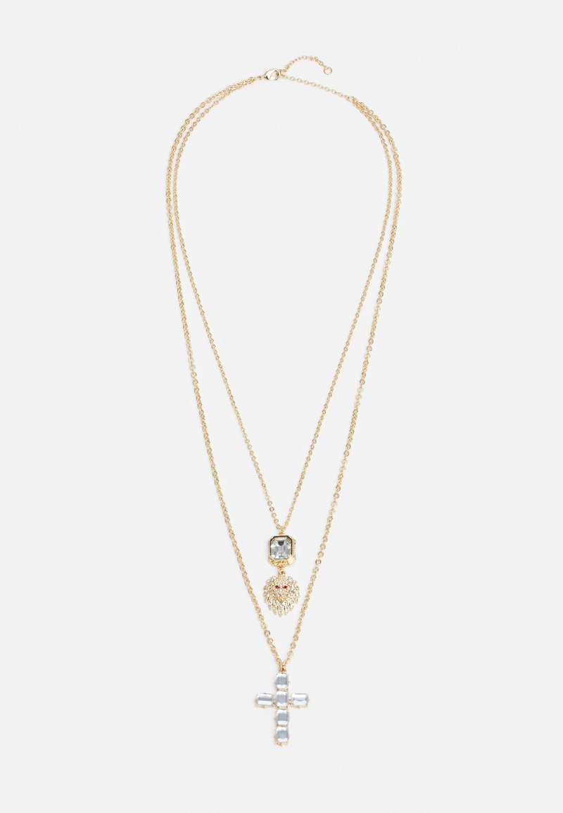 Uncommon Souls - LAYERED NECKCHAINS - Necklace - gold-coloured