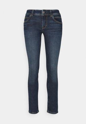 NEW BROOKE - Slim fit jeans - dark used wiser