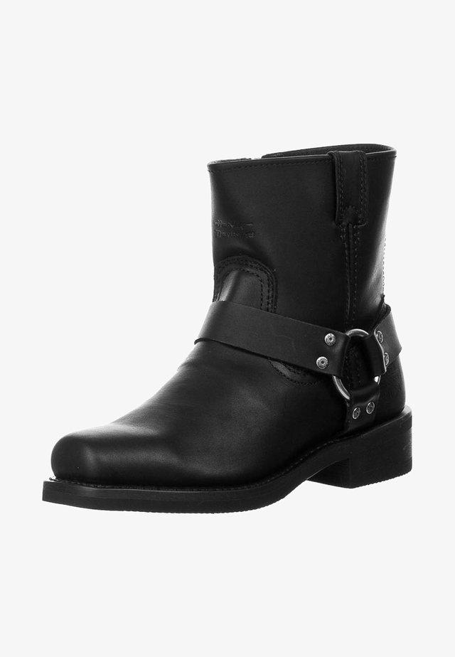 EL PASO - Cowboy-/Bikerstiefelette - black