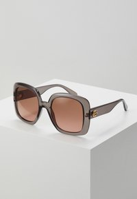 Gucci - Okulary przeciwsłoneczne - grey/brown - 0