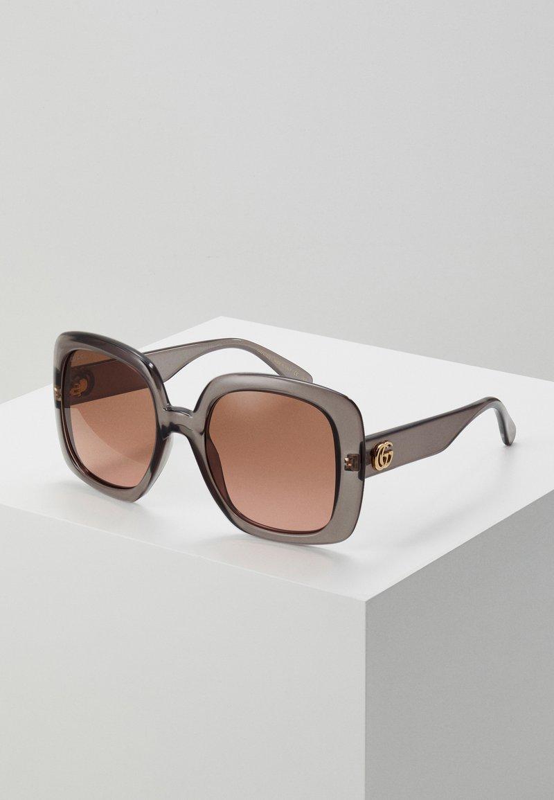 Gucci - Okulary przeciwsłoneczne - grey/brown