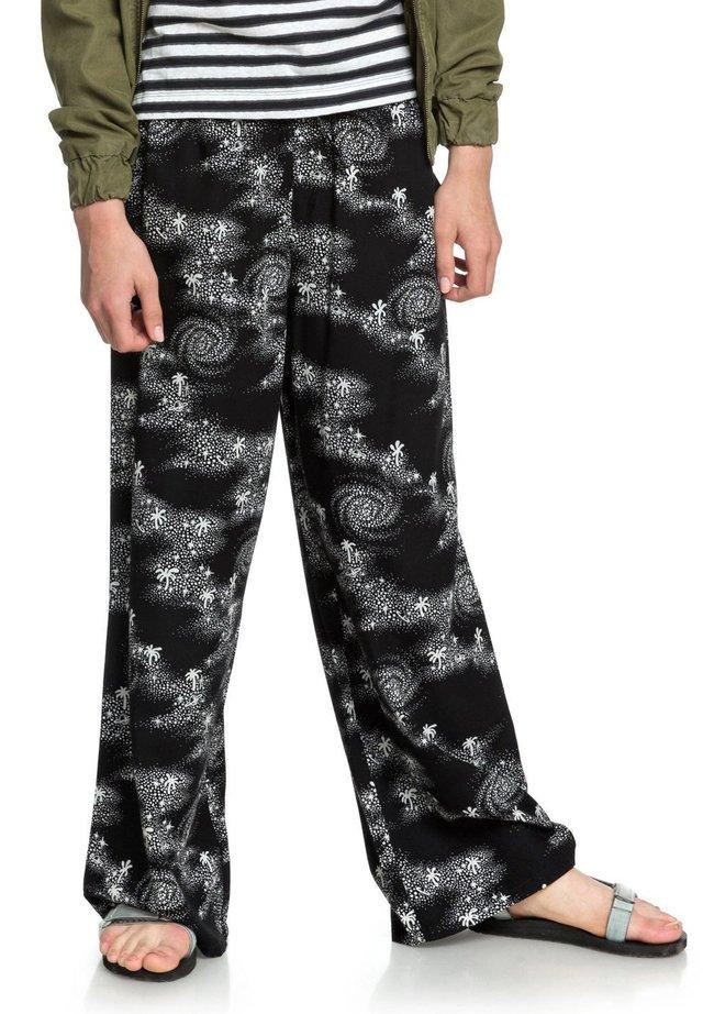 Pantalon classique - black cosmic rip