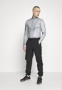 Jaded London - SEAMLESS HIGHNECK CONCRETE - Long sleeved top - concrete - 1