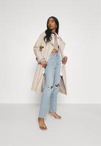 Abrand Jeans - Jeans straight leg - light blue denim - 1