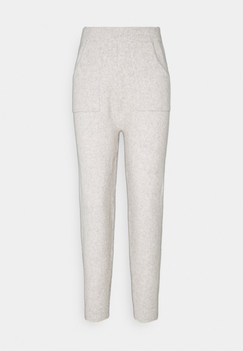 Fashion Union Petite - RULER TROUSERS - Tracksuit bottoms - grey