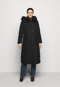 Lauren Ralph Lauren - HAND MAXI COAT - Down coat - black - 0