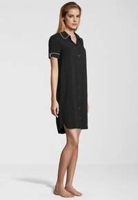 Schiesser - Nightie - black - 1
