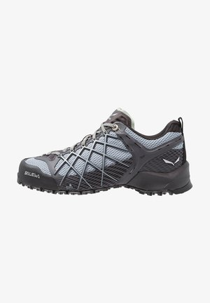 WILDFIRE - Hiking shoes - magnet/blue fog