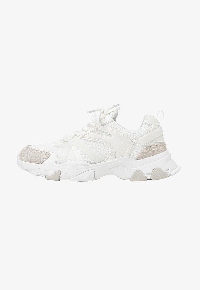 MIT KOMBINIERTEN ELEMENTEN - Sneakers laag - white