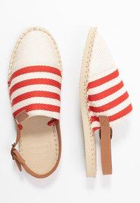 Havaianas - ORIGINE MULE STRAP - Sandals - red/raw - 3