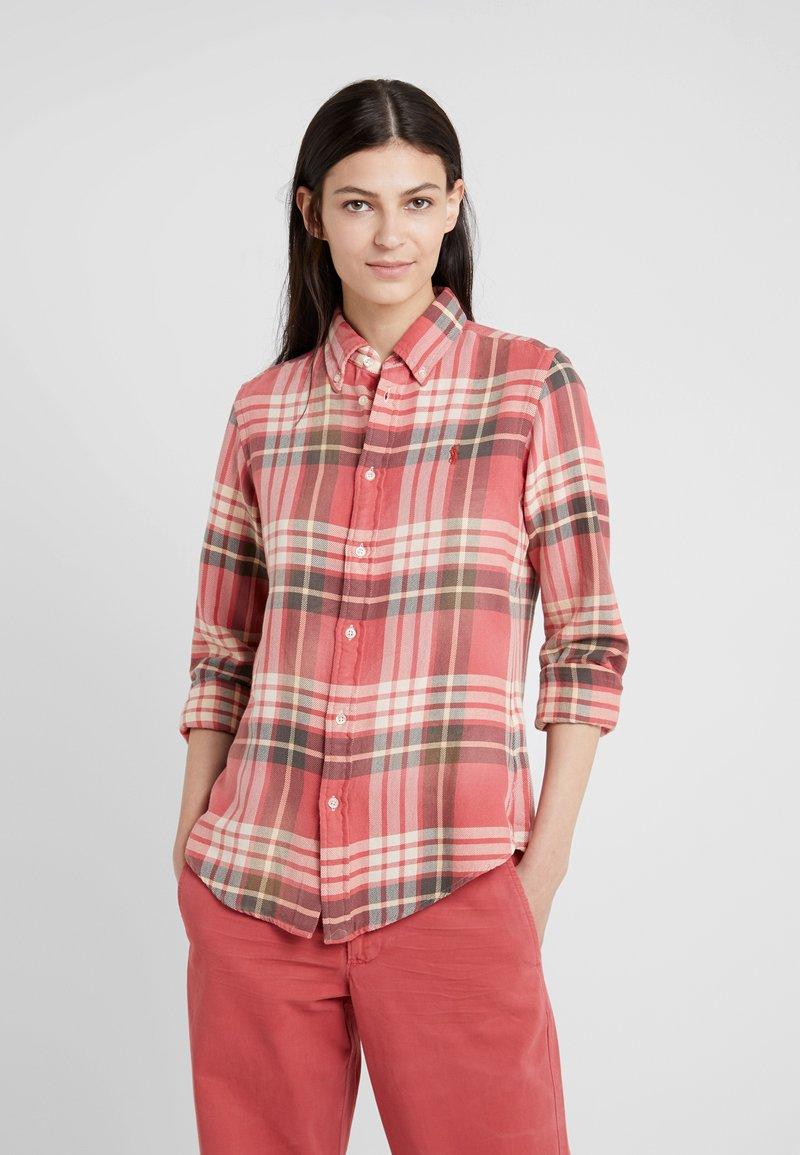 Polo Ralph Lauren - Button-down blouse - red/navy