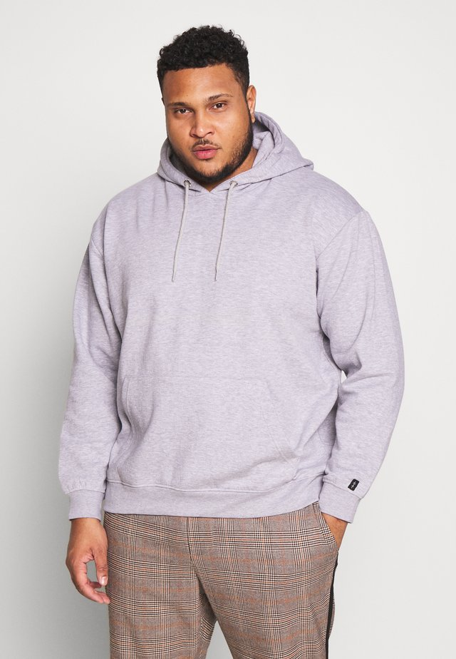 PLUS FLASH HOODIE - Huppari - grey marl