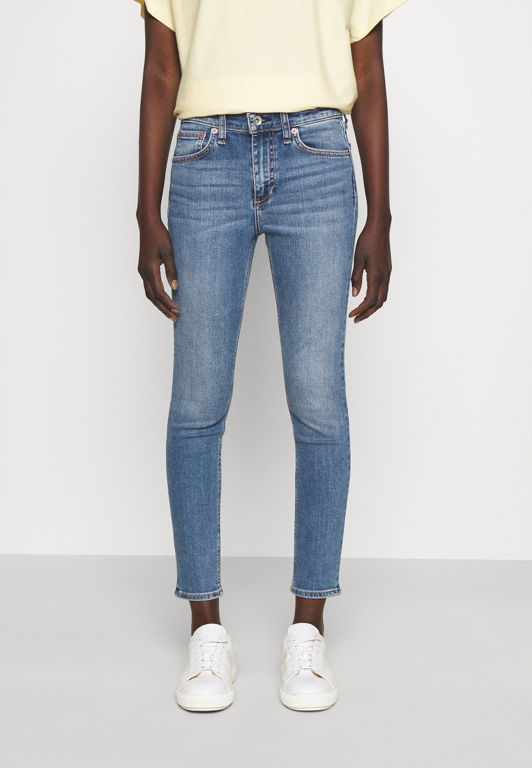 Damen CATE MID RISE ANKLE WHITE LABEL - Jeans Skinny Fit