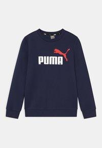 Puma - BIG LOGO CREW UNISEX - Sweatshirt - peacoat - 0
