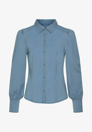 VIVANCE - Button-down blouse - blue washed