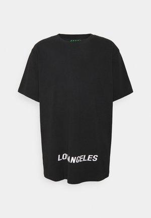 LOS ANGELES UNISEX - Print T-shirt - black