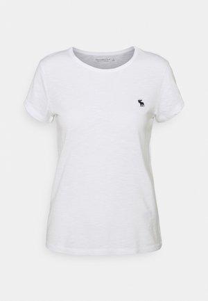ICON CREW TEE - Basic T-shirt - white