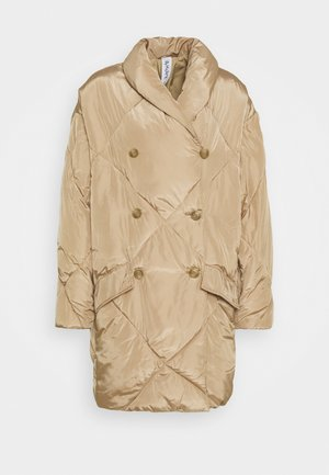 ELLA PUFFER - Winter coat - sand stone