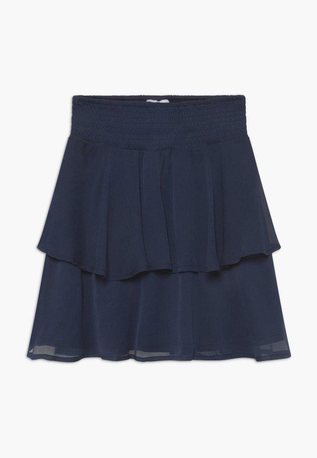 SESELINA - A-snit nederdel/ A-formede nederdele - navy