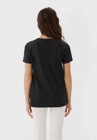 Stradivarius - 02593488 - Print T-shirt - dark grey - 2