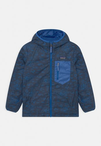 BOYS REVERSIBLE HOODY - Down jacket - superior blue