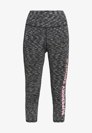 TRAINING ESSENTIAL CAPRI - Leggings - stormy grey