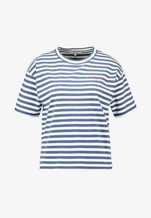 CLAIRE - Camiseta estampada - chatham blue