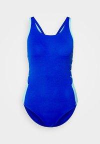 BOOM LOGO - Swimsuit - blue flame/light adriatic