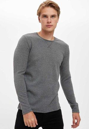 Next Bluzka z długim rękawem - grey/szary Odzież Męska AXME