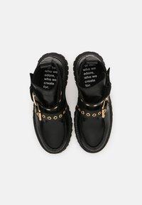 Bronx - GROOV-Y - Platform ankle boots - black - 4