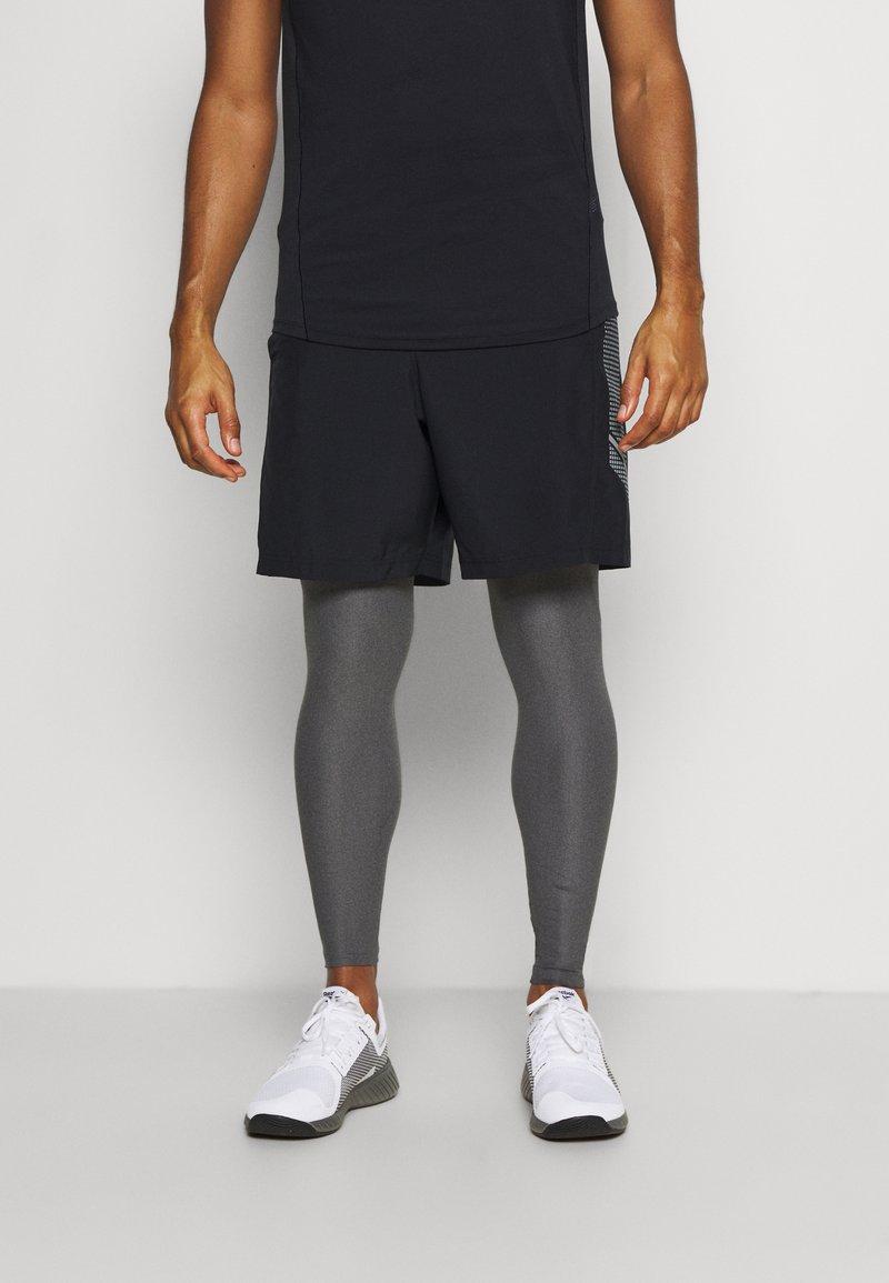 Under Armour - LEGGINGS - Leggings - carbon heather