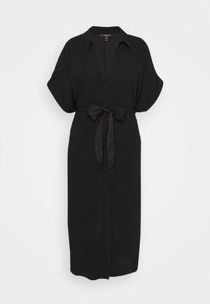 CAMILLA TIE FRONT DRESS - Day dress - black
