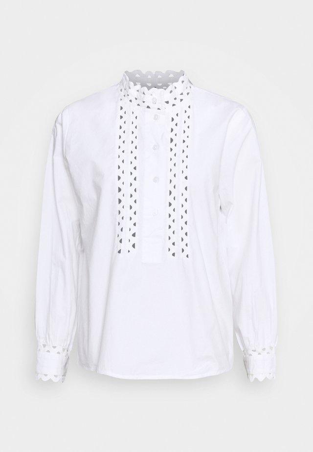 BLOUSE ROMANTIC LOOK - Blouse - white
