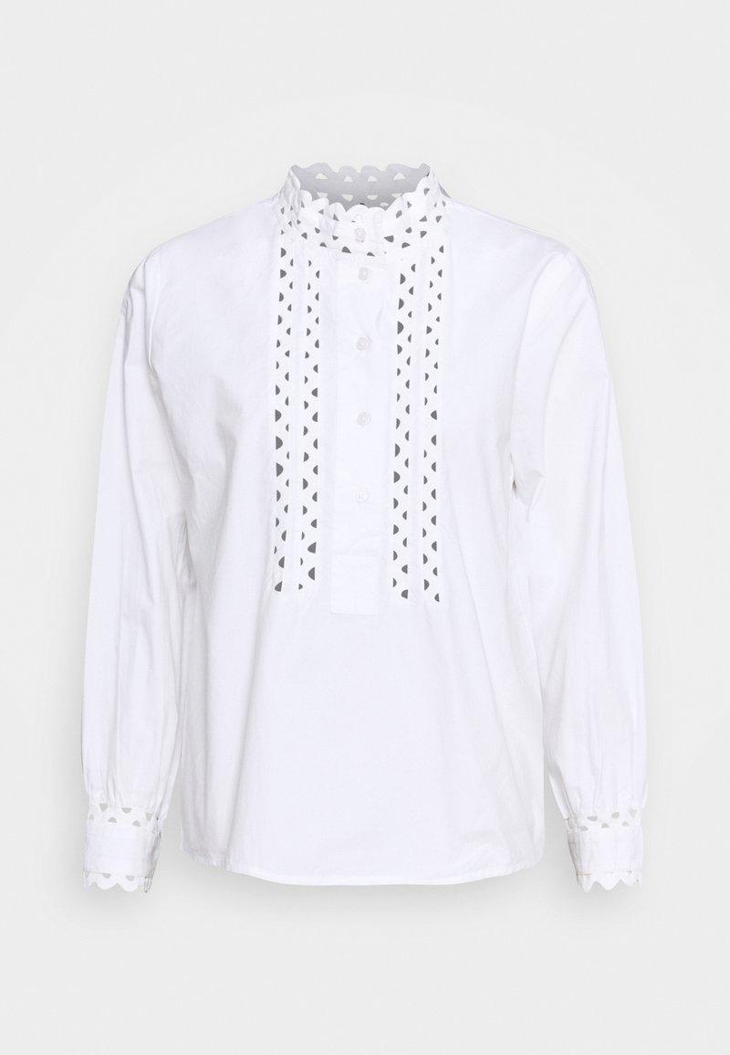 Rich & Royal - BLOUSE ROMANTIC LOOK - Blouse - white