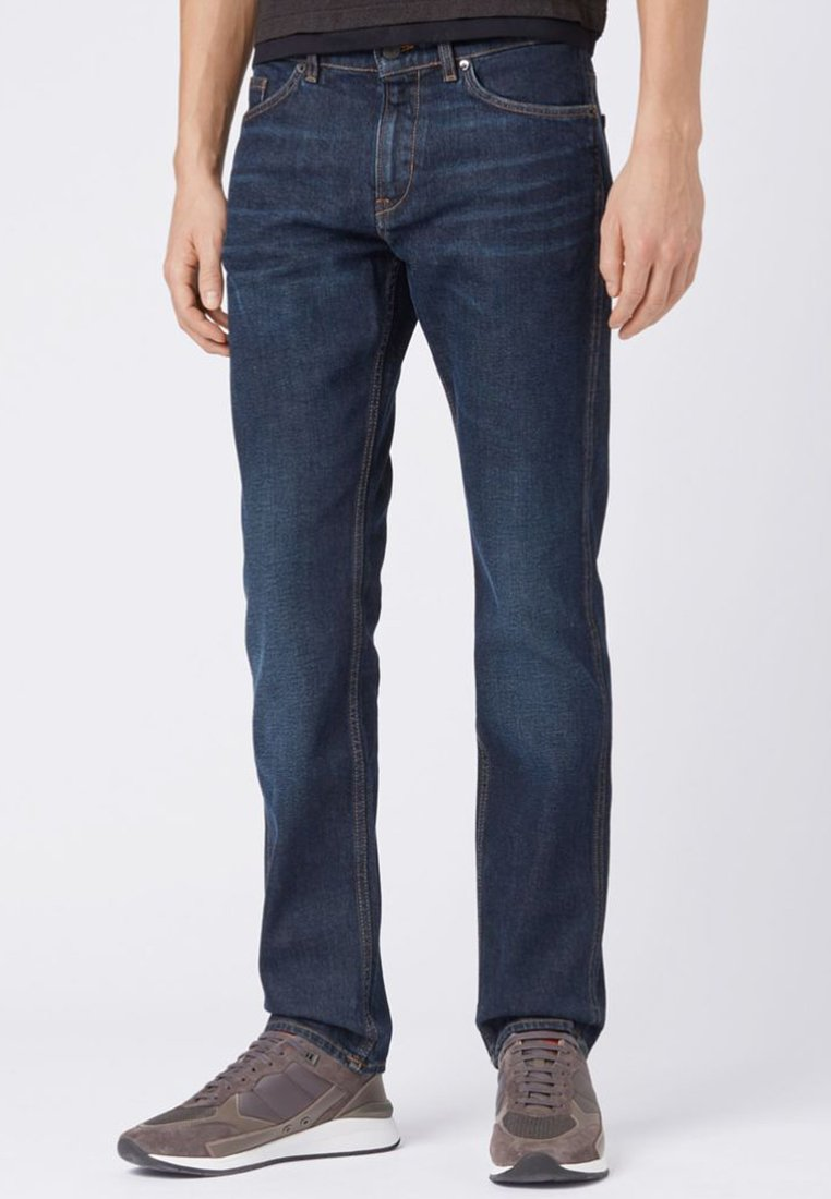 BOSS - DELAWARE - Jeans Straight Leg - blue