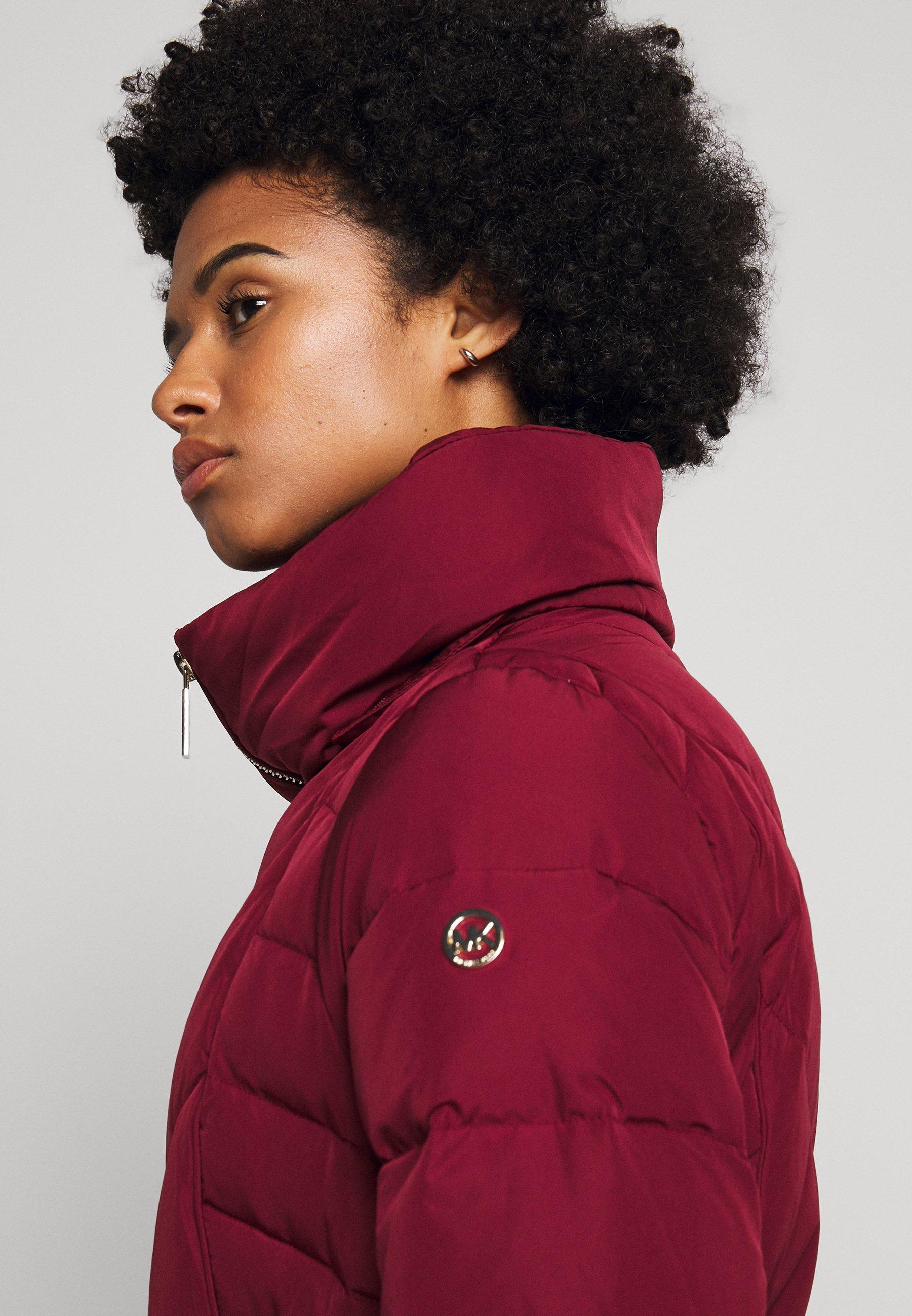 Get The Latest Fashion Women's Clothing MICHAEL Michael Kors FITTED PUFFER Down jacket dark brandy BJWIvAhZ5