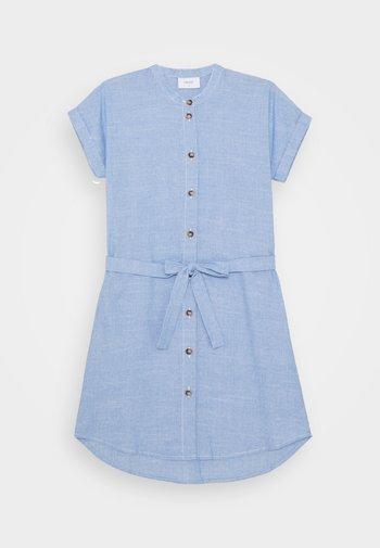 CAMILLE DRESS - Shirt dress - light blue