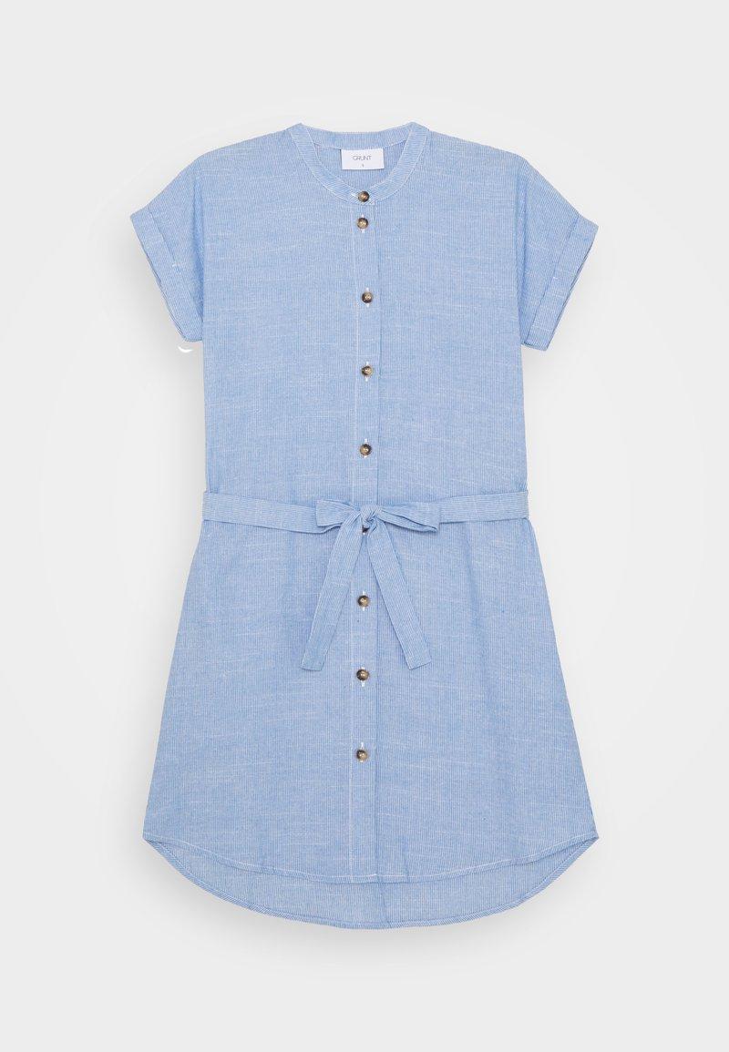Grunt - CAMILLE DRESS - Shirt dress - light blue