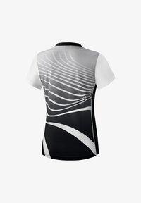 Erima - T-SHIRT DAMEN - Print T-shirt - schwarz / weiß - 1
