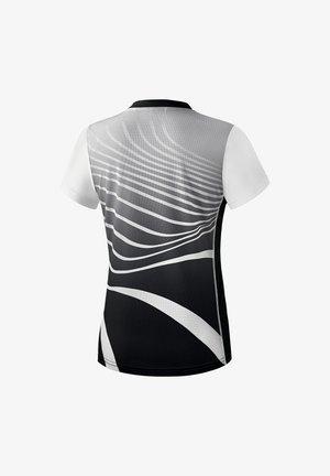 T-SHIRT DAMEN - Print T-shirt - schwarz / weiß