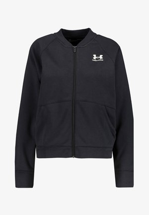 RIVAL FLEECE - Zip-up hoodie - schwarz