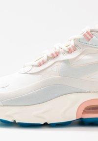 Nike Sportswear - AIR MAX 270 REACT - Trainers - summit white/ghost aqua/phantom/coral stardust/imperial blue/light bone - 2