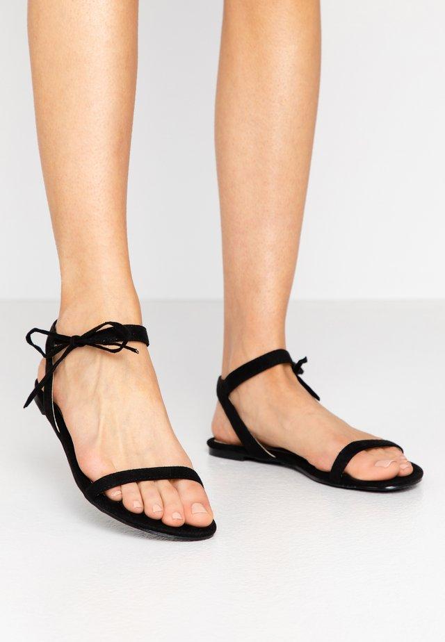 MISSIE - Sandals - black