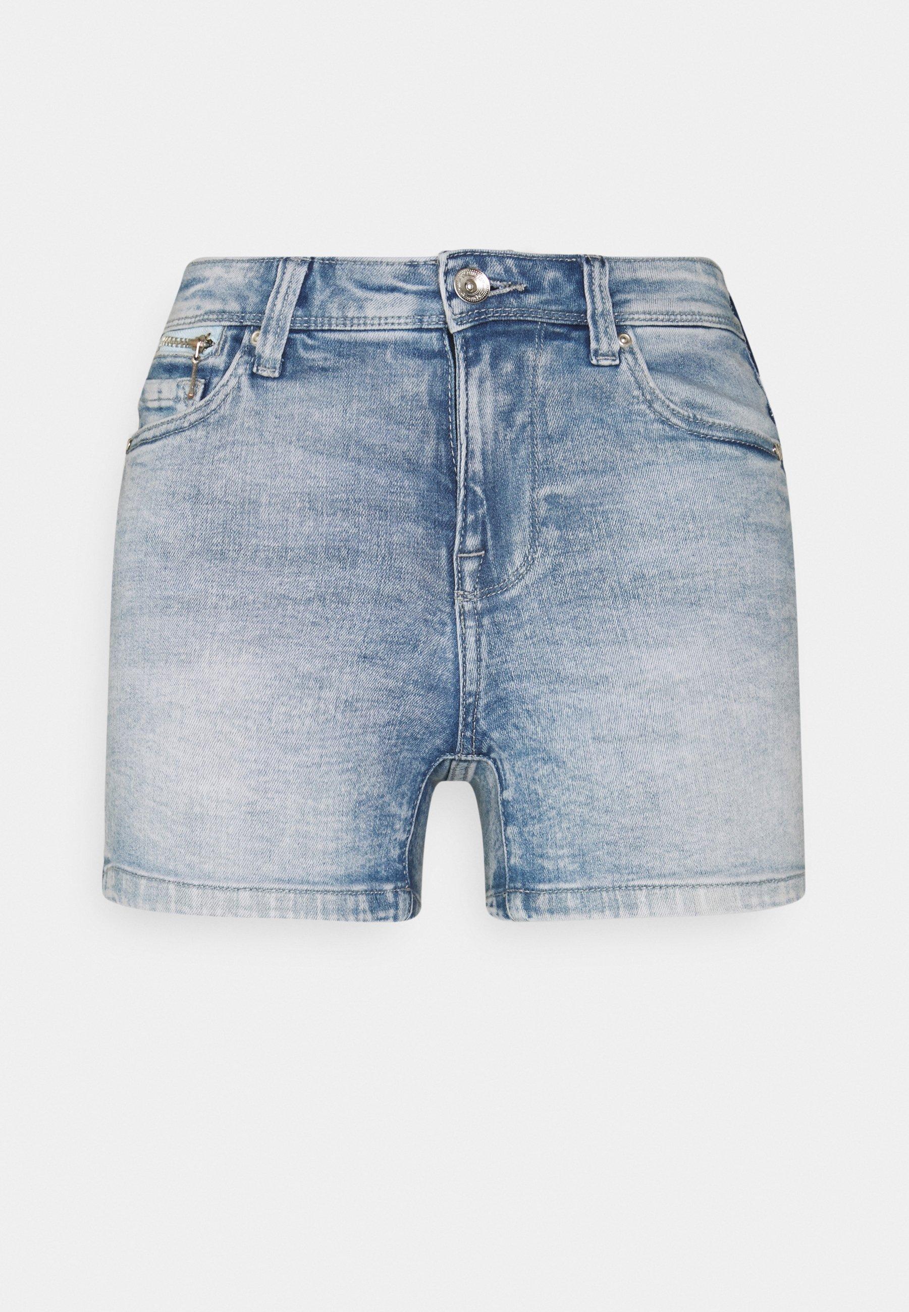 Femme ONLISA LIFE ZIP - Short en jean